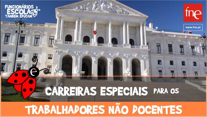 FNE Saúda resolução da Assembleia da República que reconhece direito a carreiras especiais para não docentes