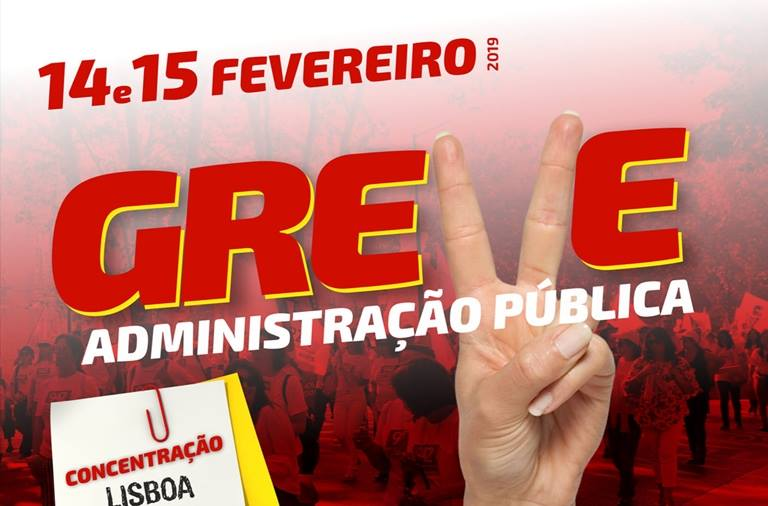 Greve Administração Pública - 14 e 15 Fevereiro | SDPM