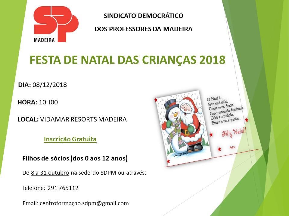 Festa de Natal das Crianças 2018 | SDPM