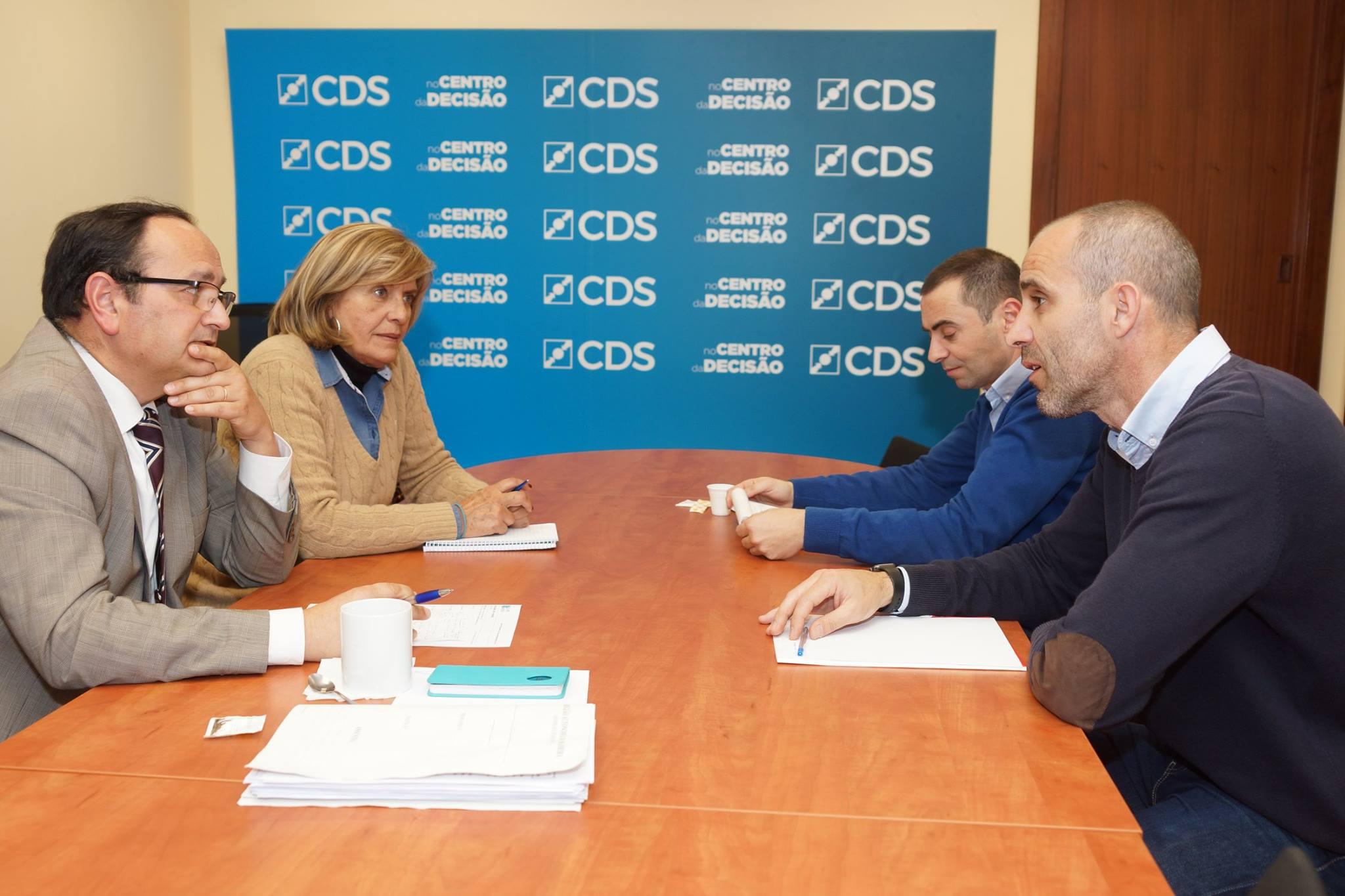 Reunião da Direção do SDPM com o CDS - PP Madeira