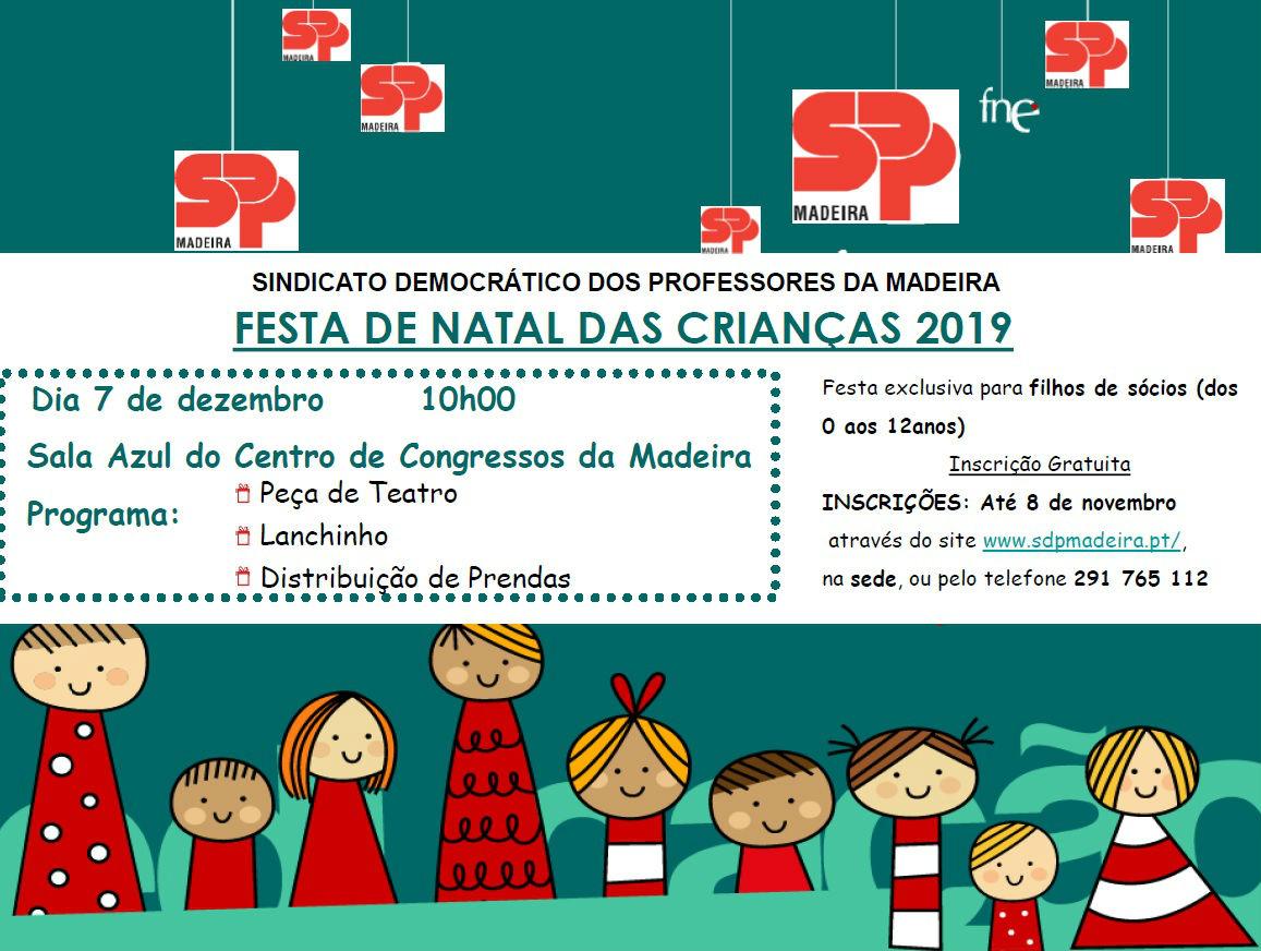 Festa de Natal das Crianças SDPM