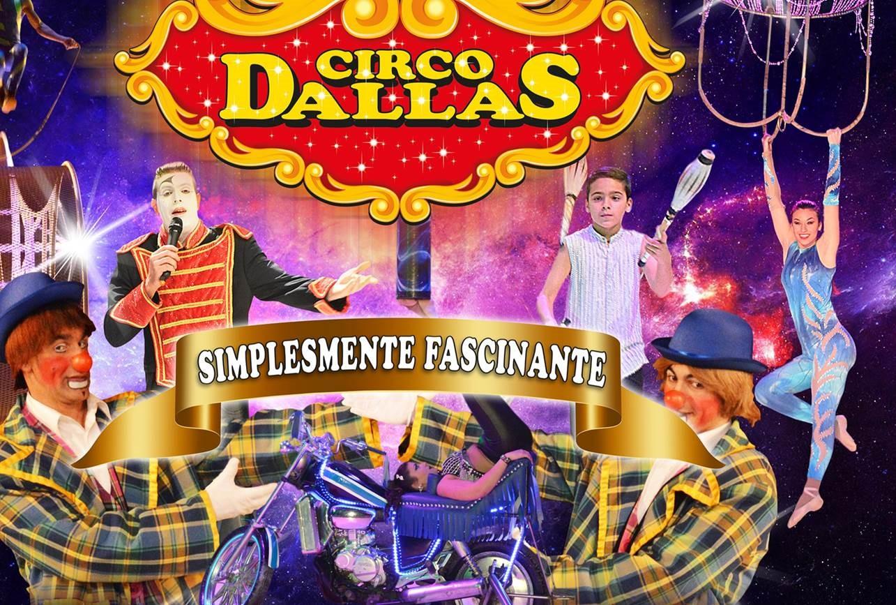 Vá ao Circo Dallas com o SDPM