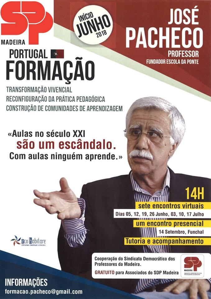 Formação Com o Professor José Pacheco | SDPM